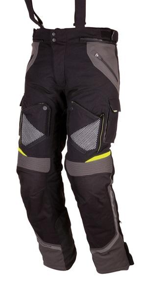 Motocyklowe spodnie tekstylne Modeka Panamericana Czarne