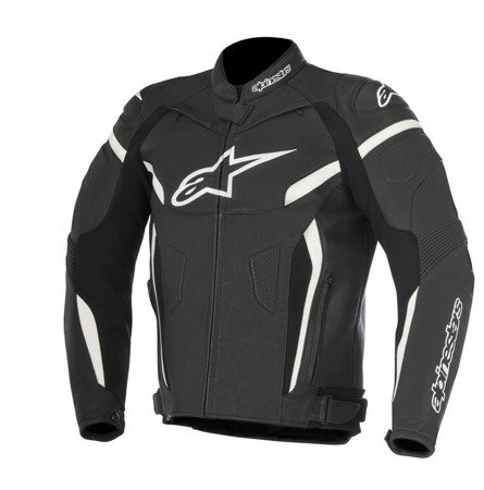 KURTKA SKÓRZANA ALPINESTARS GP PLUS R V2 BLACK WHITE